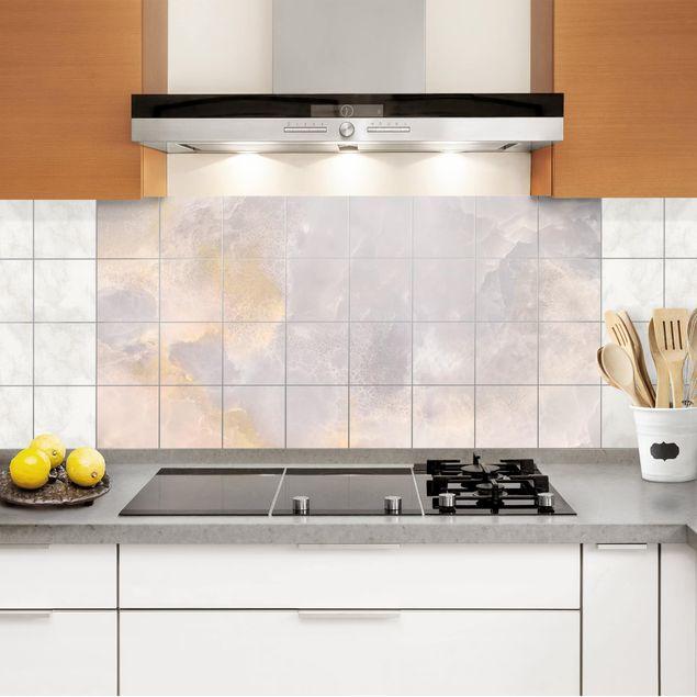 Fliesenbild - Onyx Marmor Grau