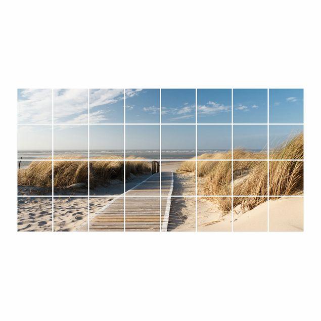 Fliesenbild - Ostsee Strand
