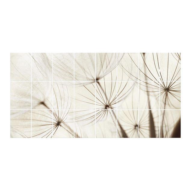 Fliesenbild - Sanfte Gräser
