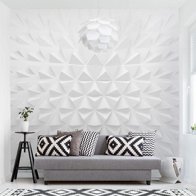 Fototapete Geometrisches Muster 3D Effekt