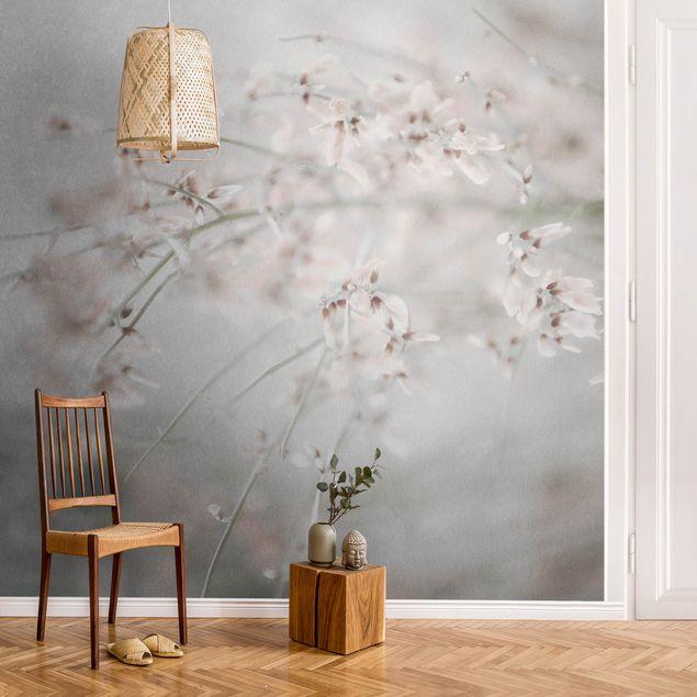 Metallic Tapete - Für immer Frühling