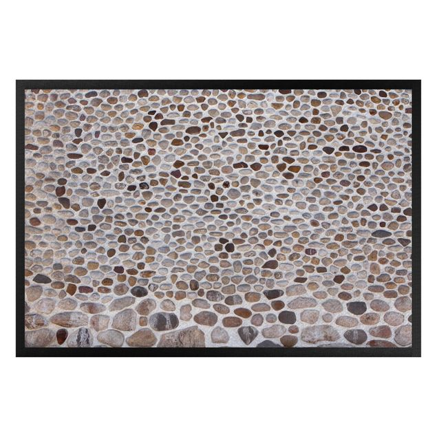 Fußmatte - Andalusische Steinmauer