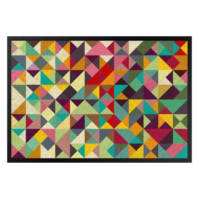 Fußmatte - Colorful Geometry