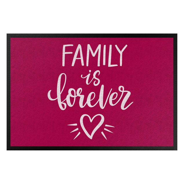 Fußmatte - Family is forever