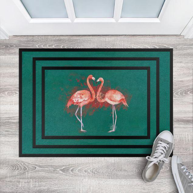 Fußmatte - Flamingos
