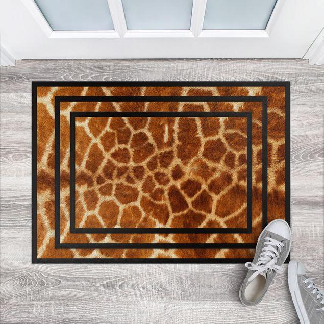 Fußmatte - Giraffenfell