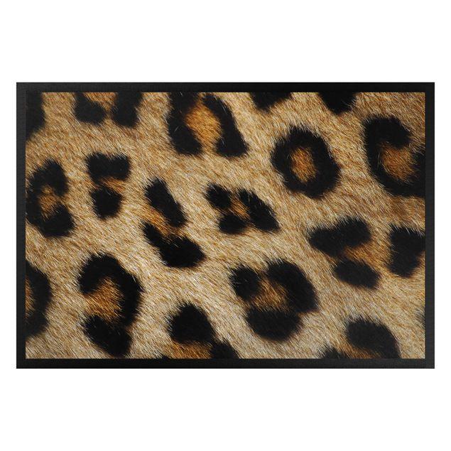 Fußmatte - Helles Leopardenfell