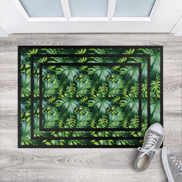 Fußmatte - Jungle Pattern