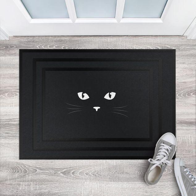 Fußmatte - Katzenaugen