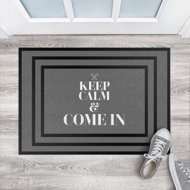 Fußmatte - Keep calm and come in