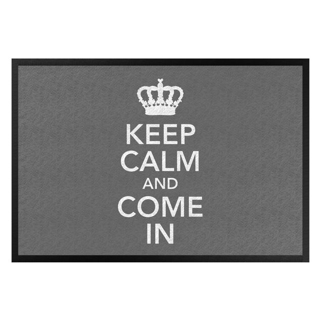 Fußmatte - Keep calm and come in II