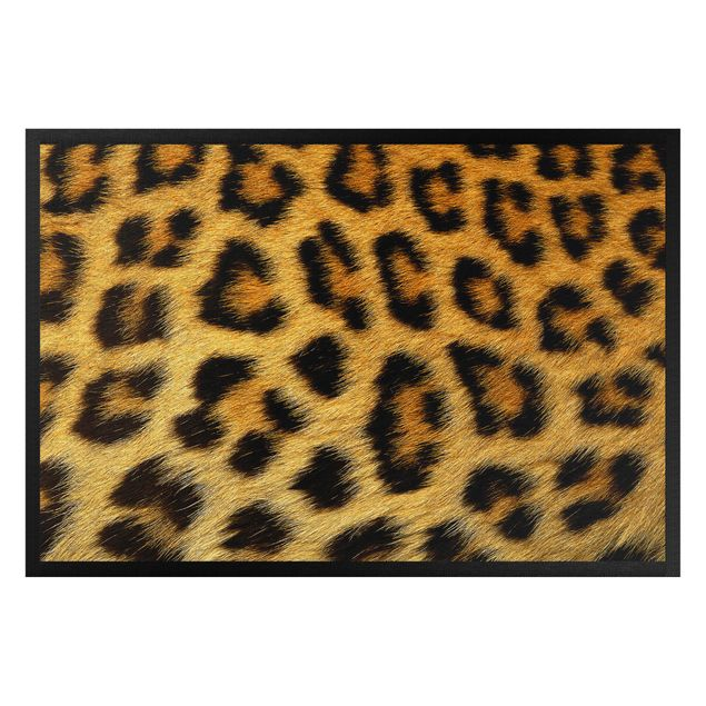 Fußmatte - Leopardenfell