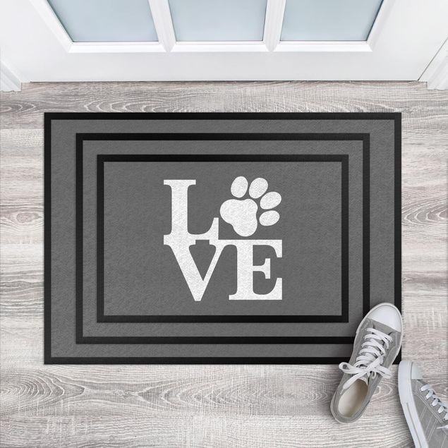 Fußmatte - Love Paw