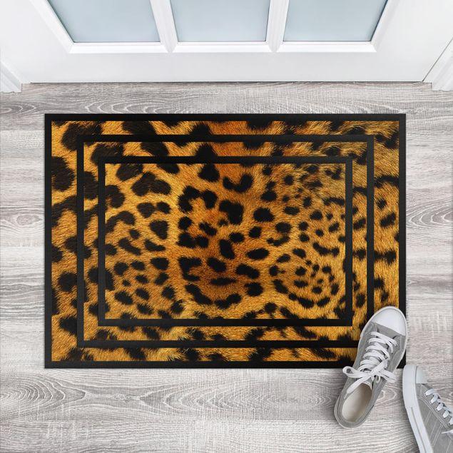 Fußmatte - Servalkatzenfell