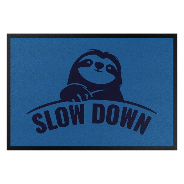 Fußmatte - Slow down