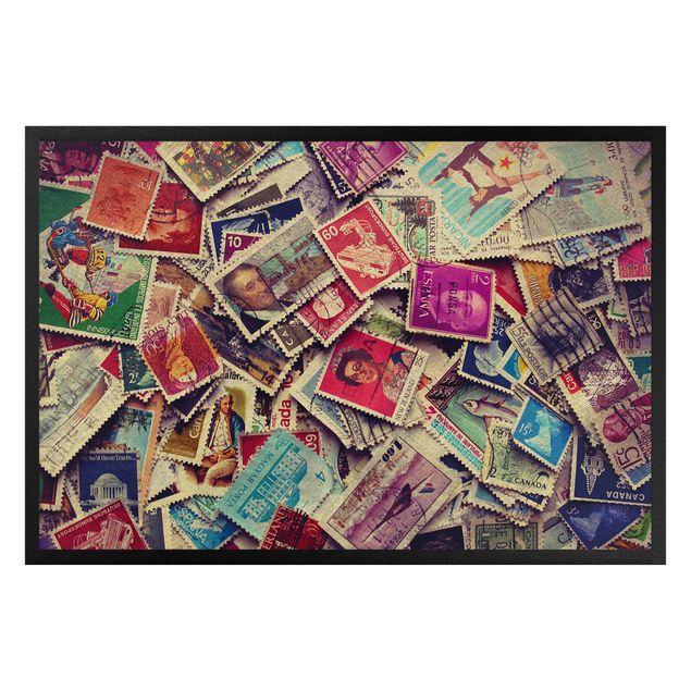 Fußmatte - Stamps