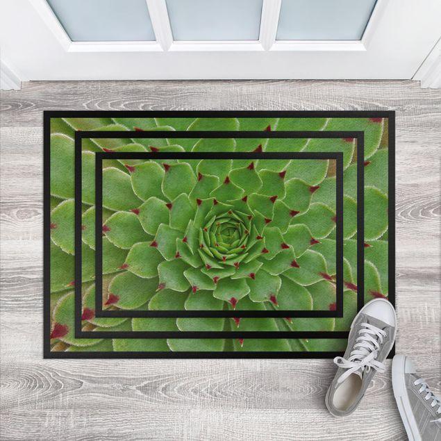 Fußmatte - Succulent Pattern
