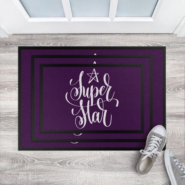 Fußmatte - Super Star