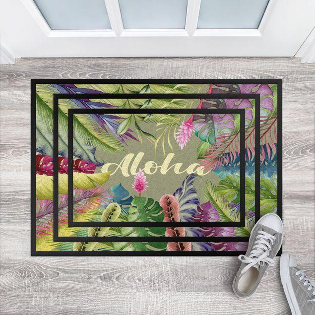 Fußmatte - Tropical Aloha