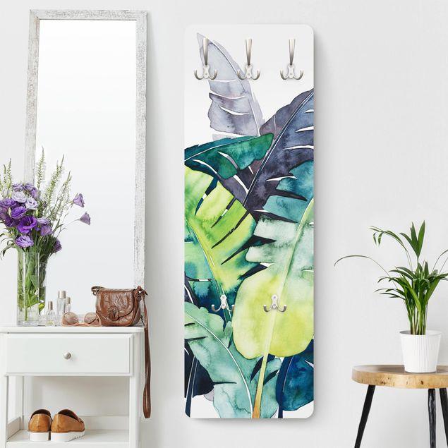 Garderobe - Exotisches Blattwerk - Banane