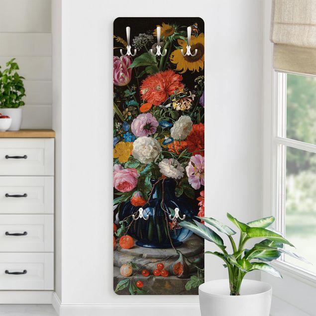 Garderobe - Jan Davidsz de Heem - Glasvase mit Blumen