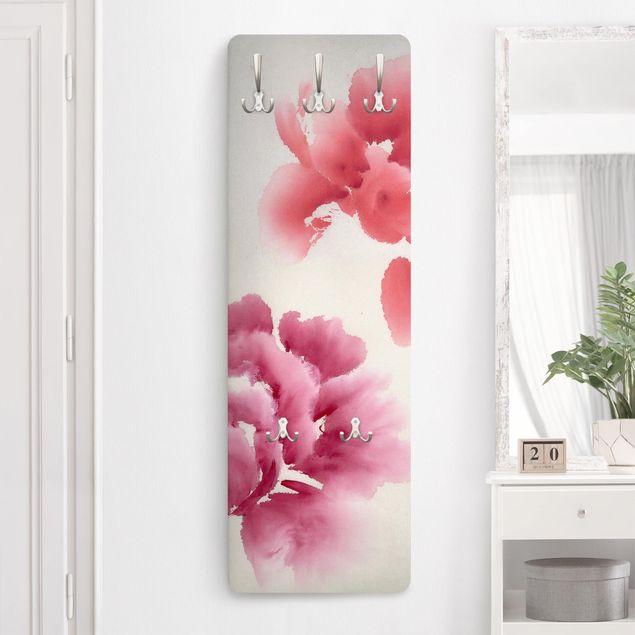 Garderobe - Künstlerische Flora II