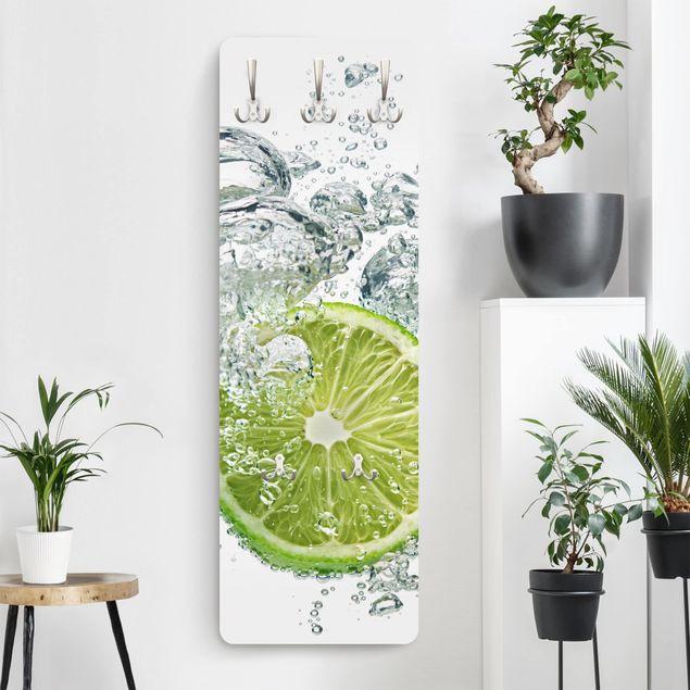 Garderobe - Lime Bubbles