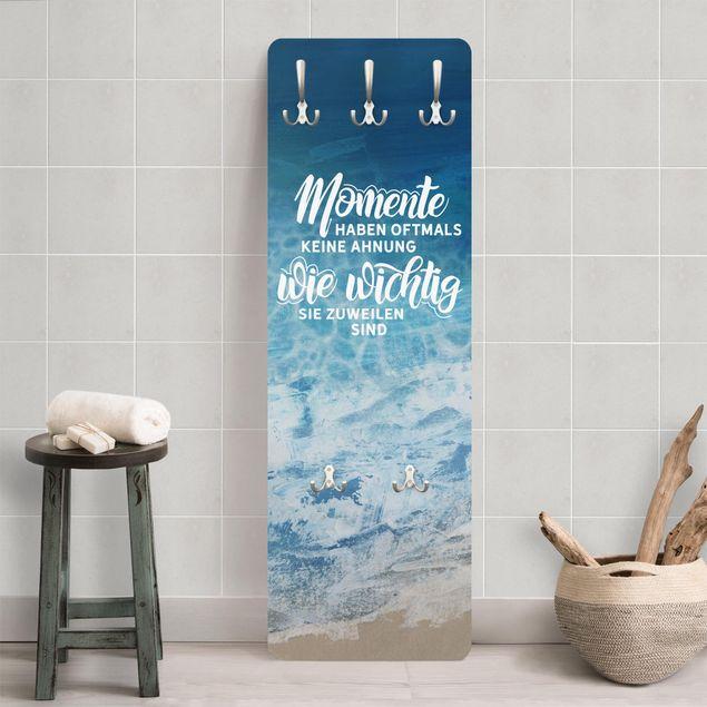 Garderobe - Meeresstrand - Wichtige Momente
