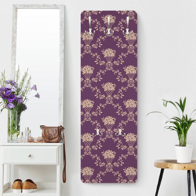 Garderobe - No.RS11 Blumenkorb Violett Layout
