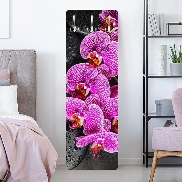 Garderobe - Pinke Orchidee
