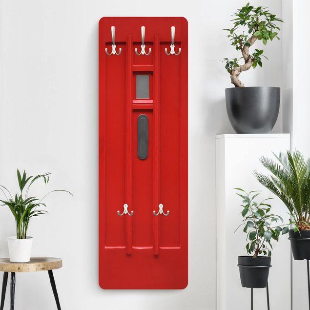 Garderobe - Rote Tür aus Amsterdam
