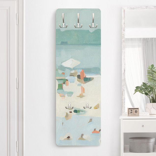 Garderobe - Sandbank im Meer I