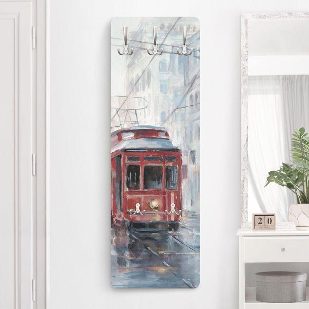 Garderobe - Straßenbahn-Studie II