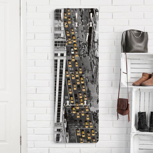 Garderobe - Taxiverkehr in Manhattan