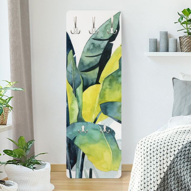 Garderobe - Tropisches Blattwerk - Banane