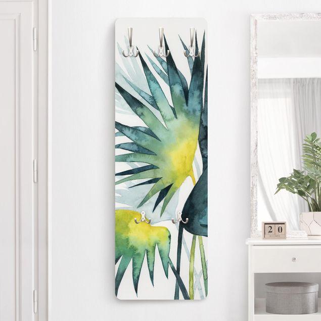 Garderobe - Tropisches Blattwerk - Fächerpalme