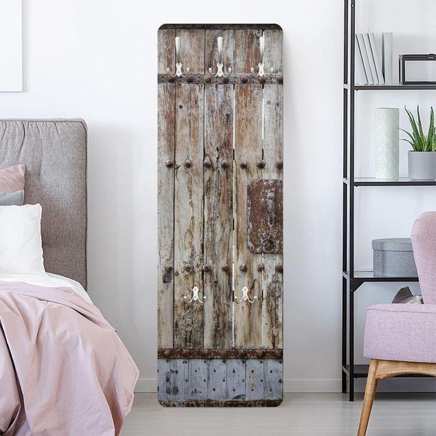 Garderobe Vintage Chinese Door Braun
