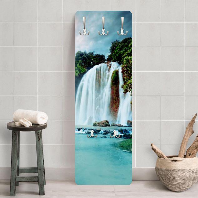 Garderobe - Wasserfallpanorama
