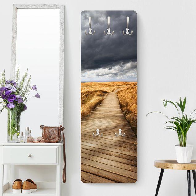 Garderobe - Weg in den Dünen