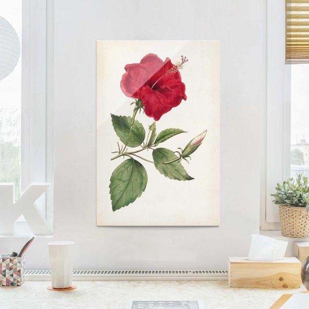 Glasbild - Gartenschönheit III - Hochformat 3:2