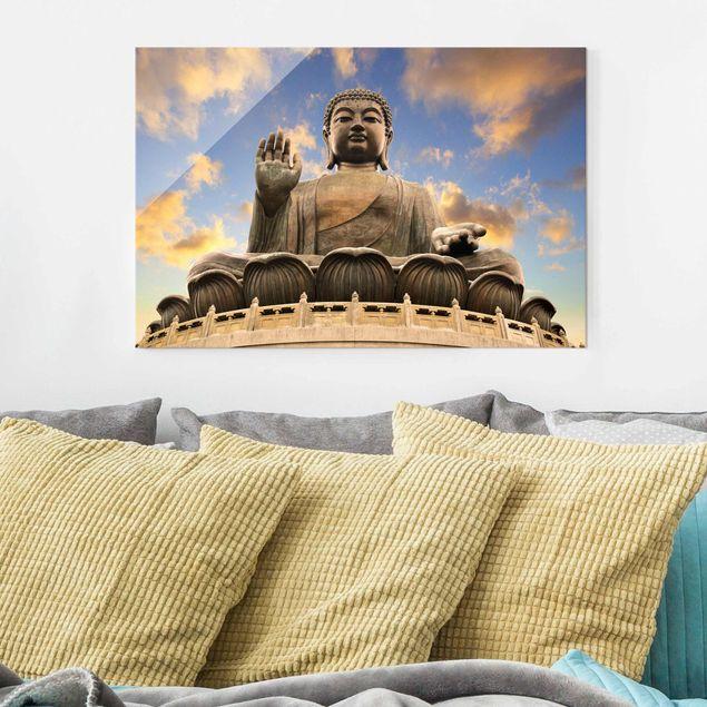 Glasbild - Großer Buddha - Quer 3:2