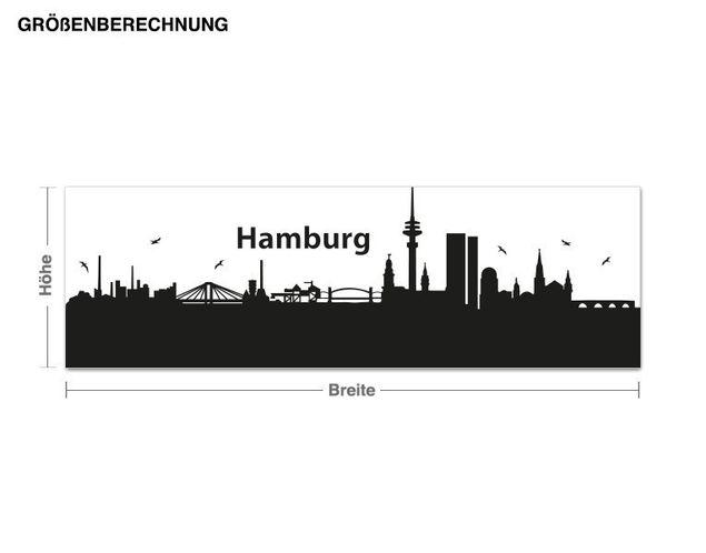 Haken-Wandtattoo Garderobe Hamburg