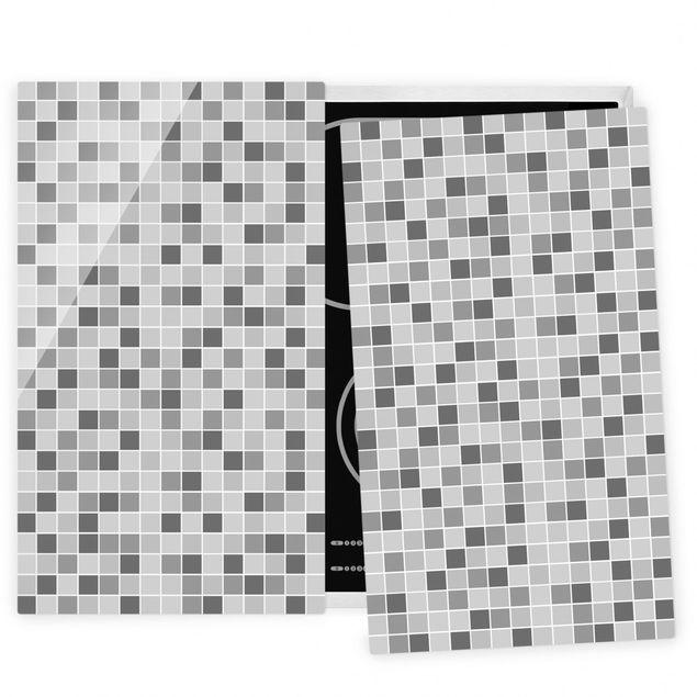 Herdabdeckplatte Glas - Mosaikfliesen Winterset