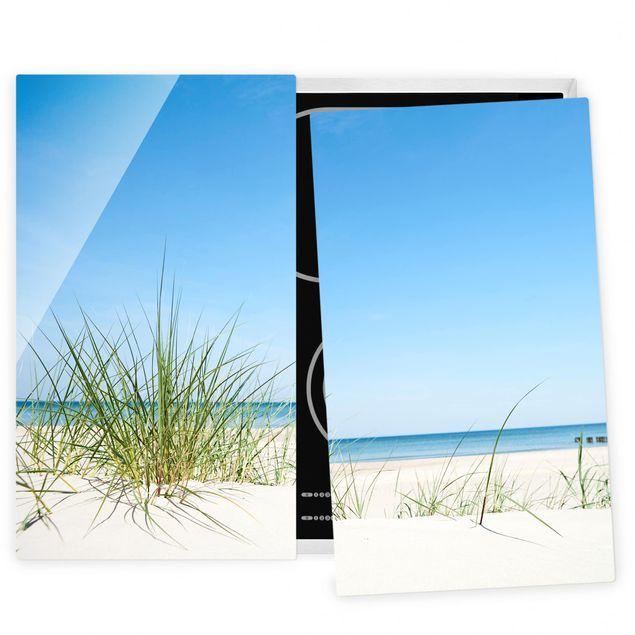 Herdabdeckplatte Glas - Ostseeküste