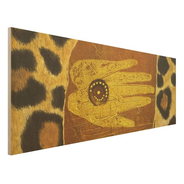 Holzbild - African Feelings - Panorama Quer