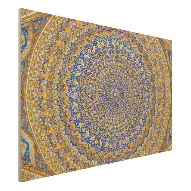 Holzbild - Dome of the Mosque - Quer 3:2
