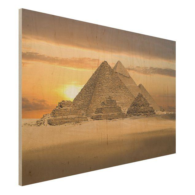 Bild aus Holz - Dream of Egypt - Quer 3:2