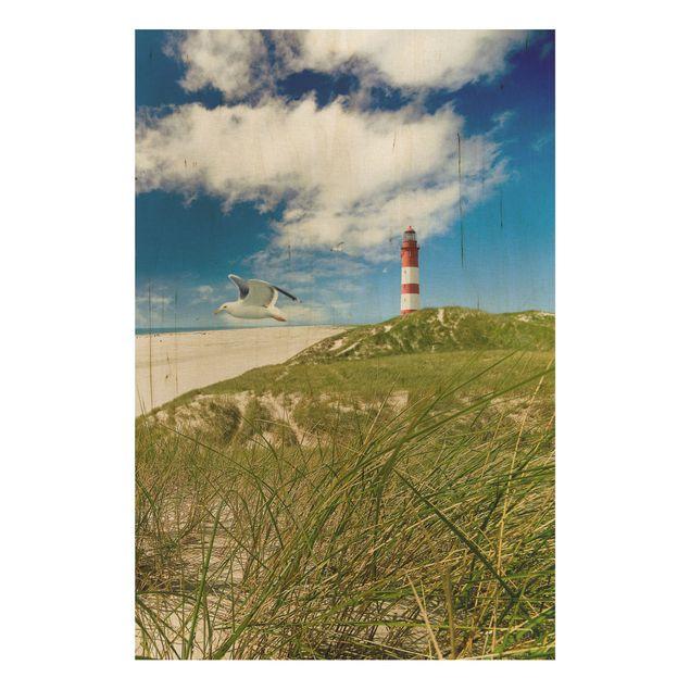 Holzbild Meer - Dune Breeze - Hoch 2:3