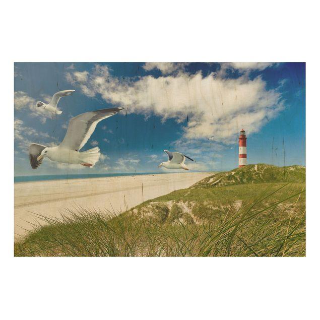 Holzbild Meer - Dune Breeze - Quer 3:2