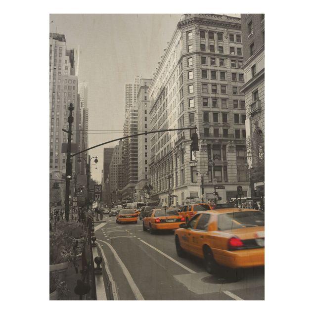 Holzbild - New York, New York! - Hoch 3:4